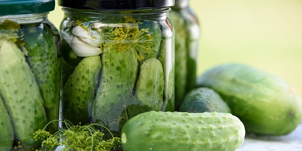 Canning & Preserving with Cortney