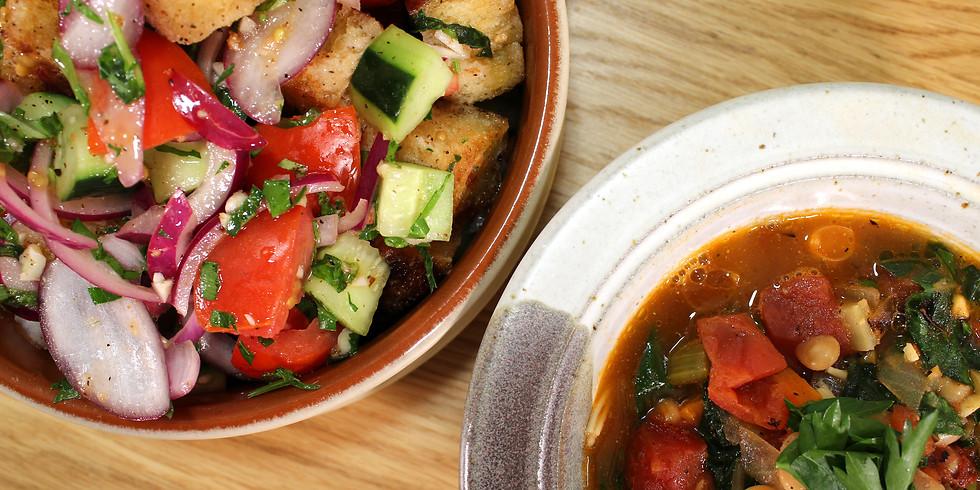 USADA Italian Soup & Salad Online Cooking Class