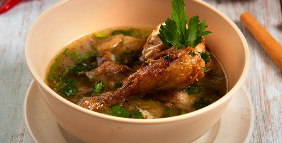 Weds, Sept 23: Soulful Soups Online Cooking Class