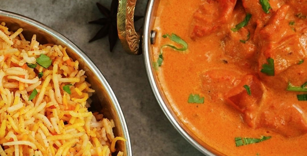 Weds, March 17: Easy Indian Cooking with Clark and Hopkins (Online Class)