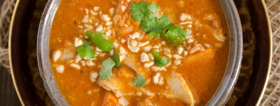 Tues, April 20: African Curry#4 - Senegal (Online CLass)