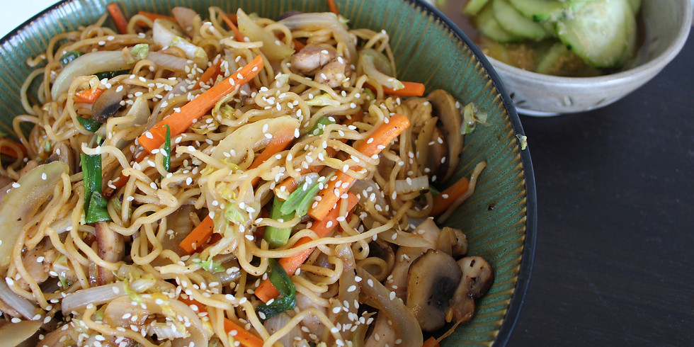 Japanese Noodles Online Cooking Class