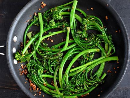 Broccolini with Preserved Lemons & Feta