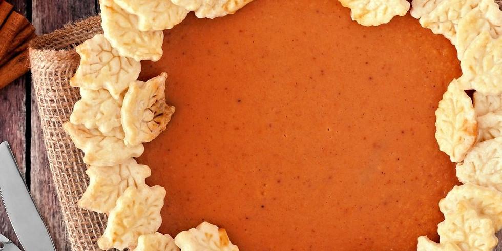 The Ultimate Pumpkin Pie Workshop
