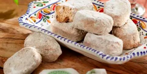 Polvorones Christmas Cookies