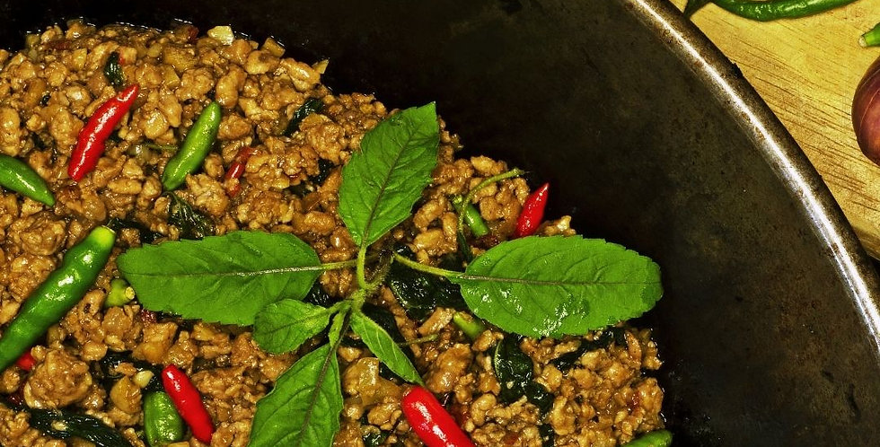 Tues, March 23: Easy Weeknight Thai (Online Class)