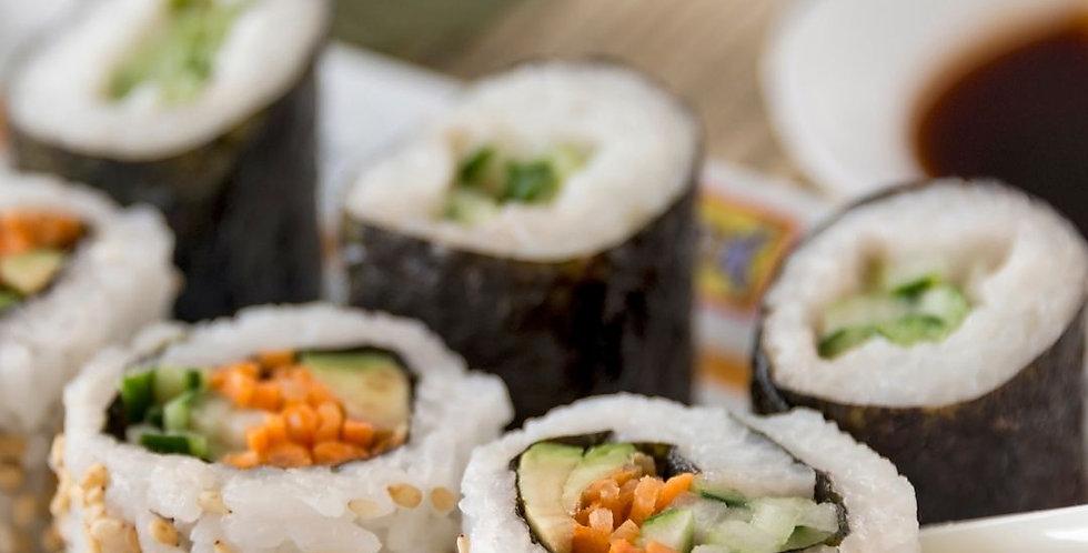 Thurs, Nov 19th: Sushi 101 (In-Person Class)
