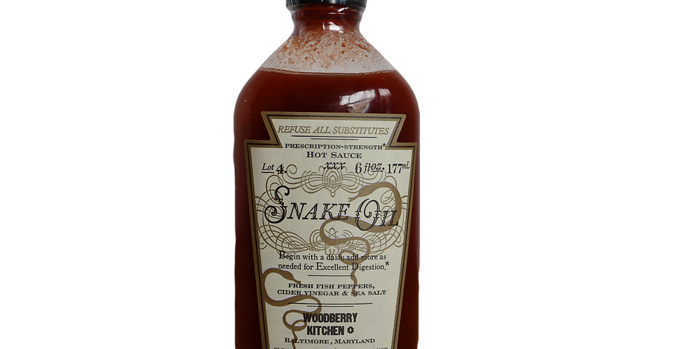 Snake Oil Hot Sauce