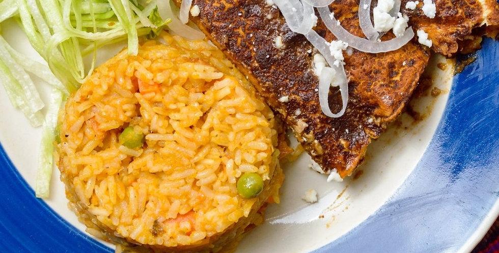 Thurs, March 25: Taste of Mexico-Enmoladas (Online Class)
