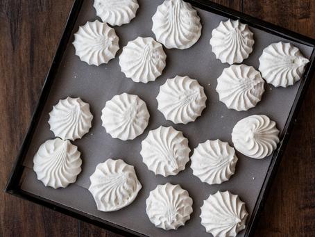 Aquafaba Meringue Cookies