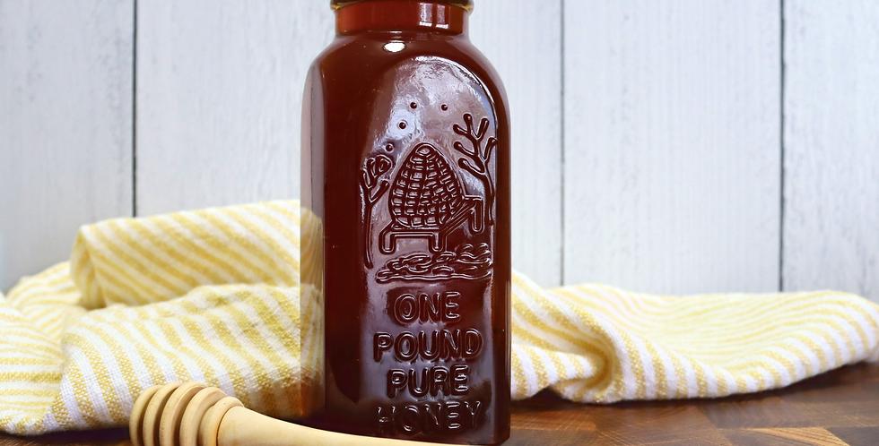 1lb Lockhart Colorado Honey in Refillable Jar