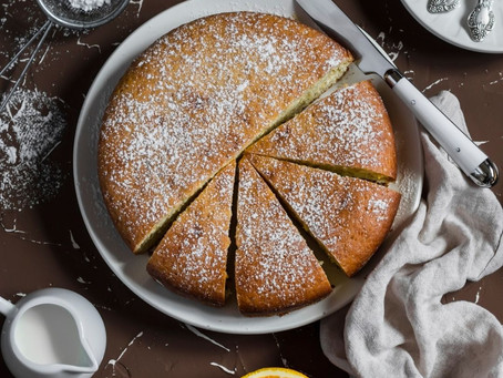 Olive Oil Old Fashioned Cake