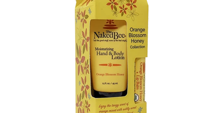 Orange Blossom Honey Gift Collection