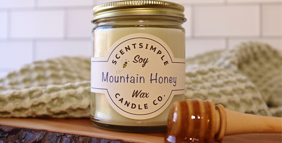 Mountain Honey Candle