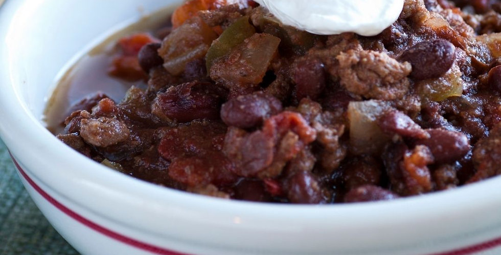 Thurs, Feb 25: National Chili Day (Online Class)