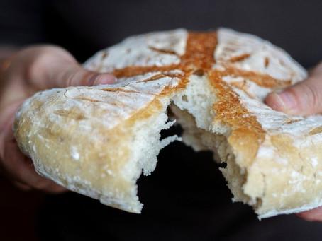 Gather-Style Rustic Garlic Bread