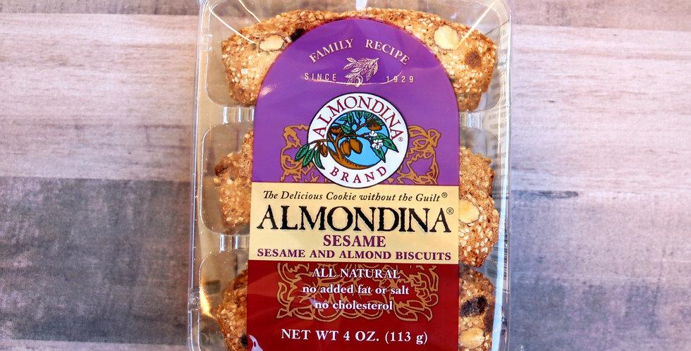 Almondina Sesame Biscuits