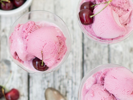 Rum & Black Cherry Ice Cream