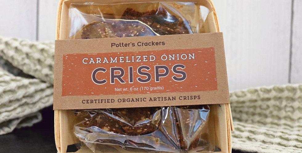 Caramelized Onion Crisps