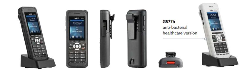 SV9100 - DECT portable phone visuals plu