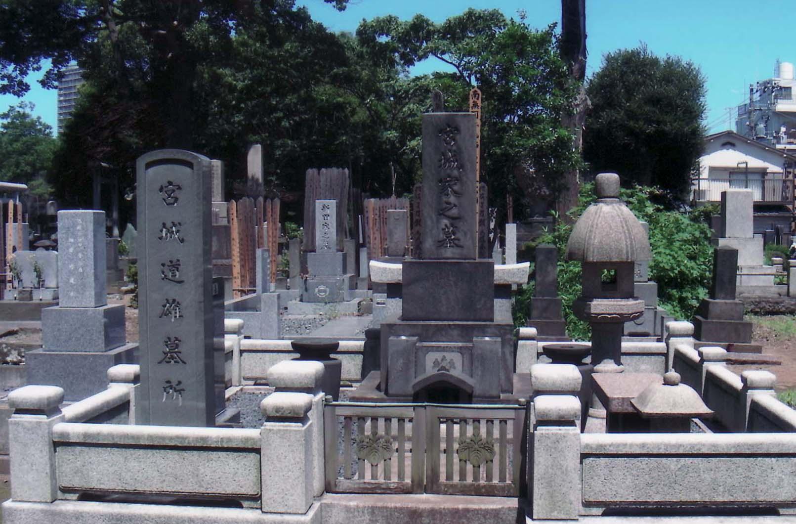 Mr. Miyagi's cemetery