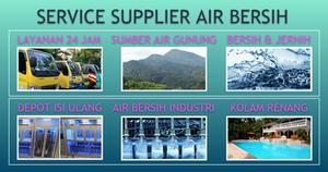 supplier air gunung