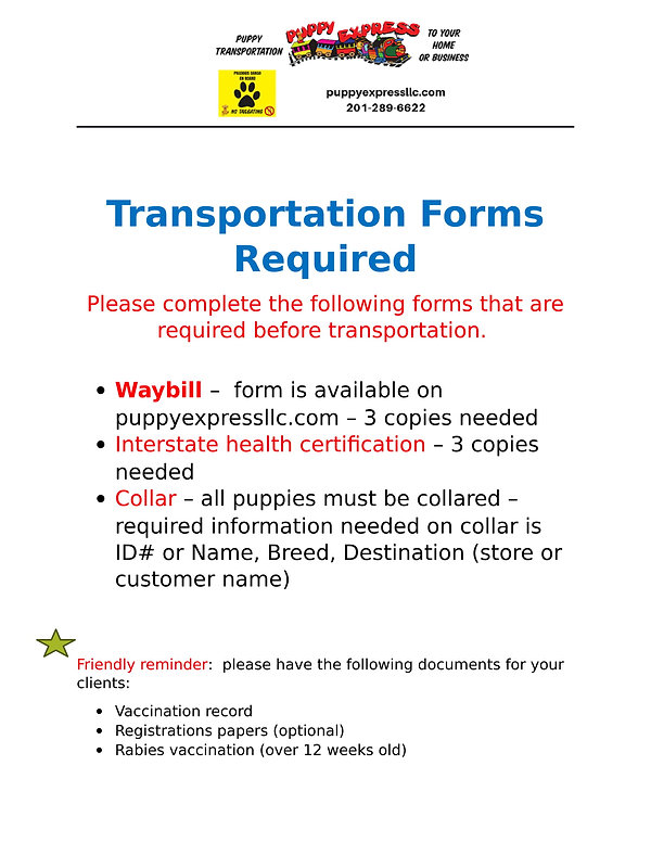 Transportations Forms Required.jpg