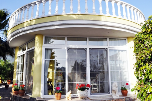 2+1 Villa with Pool, Garden and Seaview in Mahmutlar, Alanya