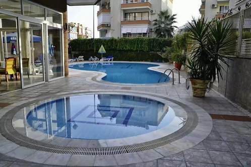 1+1 Apartment with Pool in Oba, Alanya