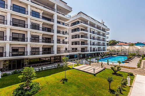 2+1 Apartment with seaview and all activities in Kargicak, Alanya