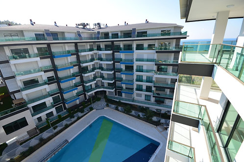 2+1 Apartment with all social Activities in Kargicak, Alanya