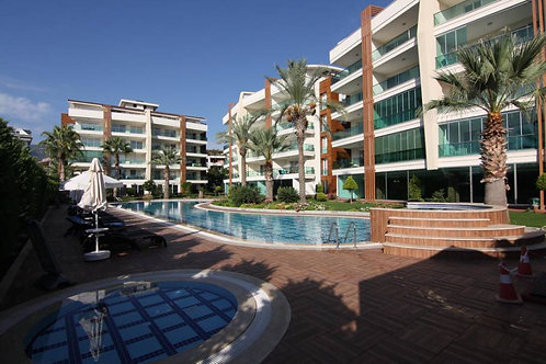 1+1 Apartment with all Activities in Oba, Alanya