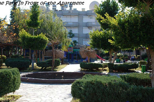 Apartments with Pool and Garden in Oba, Alanya