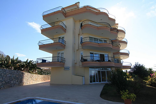 OASEN Penthouse with Pool, Garden and Seaview in Mahmutlar, Alanya