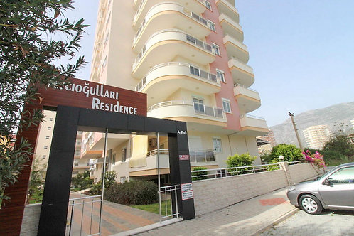 2+1 Apartment with Seaview, Pool and garden in Mahmutlar, Alanya