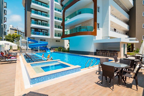5+1 Penthouse with all Activities in Kleopatra, Alanya