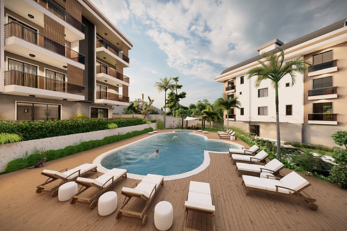 Penthouses and Dublex with all Activities in Hasbahce, Alanya