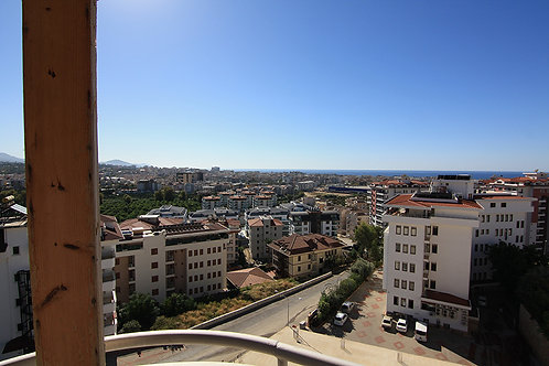 SUN Apartment with Pool, Garden and Seaview in Cikcilli, Alanya