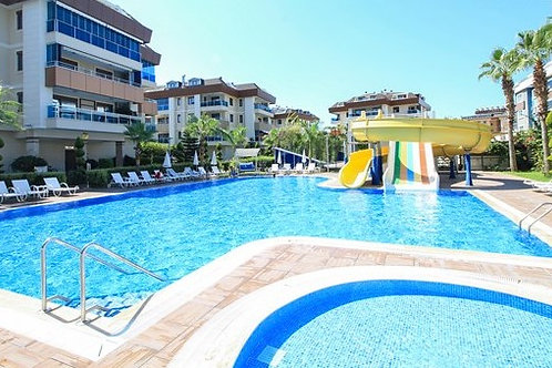 2+1 Apartment with all Activities in Oba, Alanya
