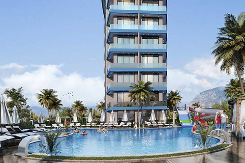 1+1 Apartments with all Activities in Avsallar, Alanya