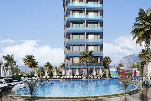 1+1 Apartments with all Activities in Avsallar, Alanya