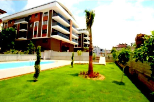 3+1 Apartment with Pool and Garden in Alanya center