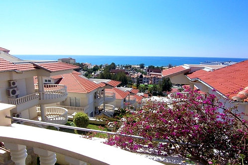 3+1 Penthouse with seaview and all Activities in Konakli, Alanya