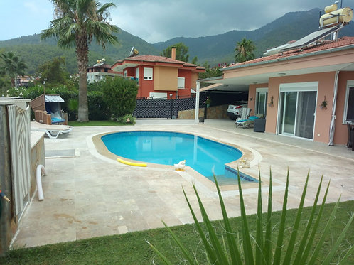 Villa with private Pool and Garden in Oba, Alanya