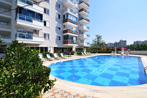 Apartments with all Activities and Seaview in Mahmutlar, Alanya