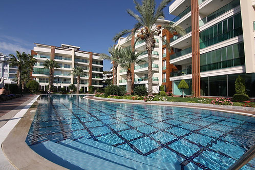 SUN Apartment with Pool and Garden in Oba, Alanya