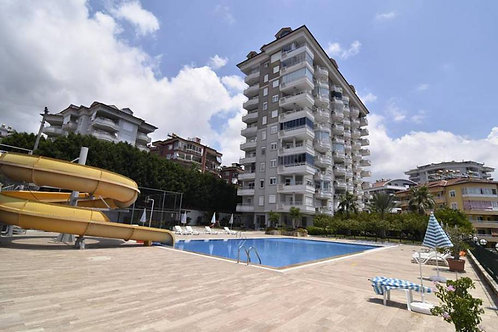 2+1 Apartment with seaview and all Activities in Cikcilli, Alanya
