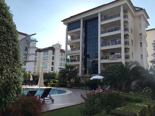 Apartment with Pool, Garden and Seaview in Kestel, Alanya