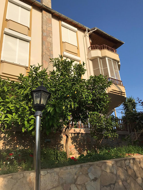 Villa with Pool, Garden and Seaview in Kestel, Alanya