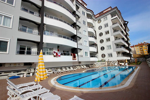 1+1 Apartment with all Activities in Alanya Center